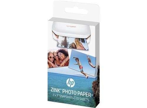 "HP Sprocket ZINK® Sticky-backed 2"" x3"" Photo Paper (20 Sheet Pack) - TechTide"