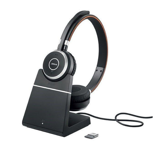 JABRA EVOLVE 65 MS STEREO WITH CHARGING STAND 6599-823-309 JABRA Headsets & Accessories