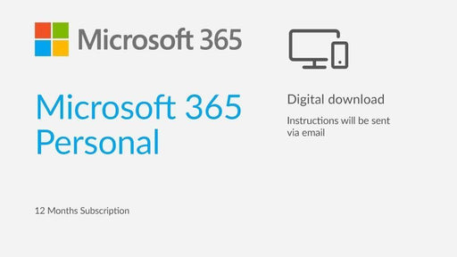 Microsoft Office 365 Personal 1 Year Subscription - Software Download and Product Key - TechTide