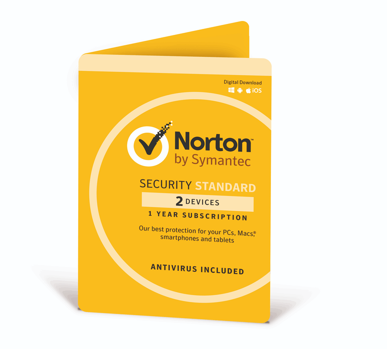Norton Internet Security Standard 3.0 1 User 2 Device 12 Month Subscription - DVD Software & Key - TechTide