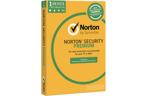 Norton Security Premium 3.0 2GB AU 1 User 1 Device 12 Month Subscription Email Key 21353909 SYMANTEC Software Security Software