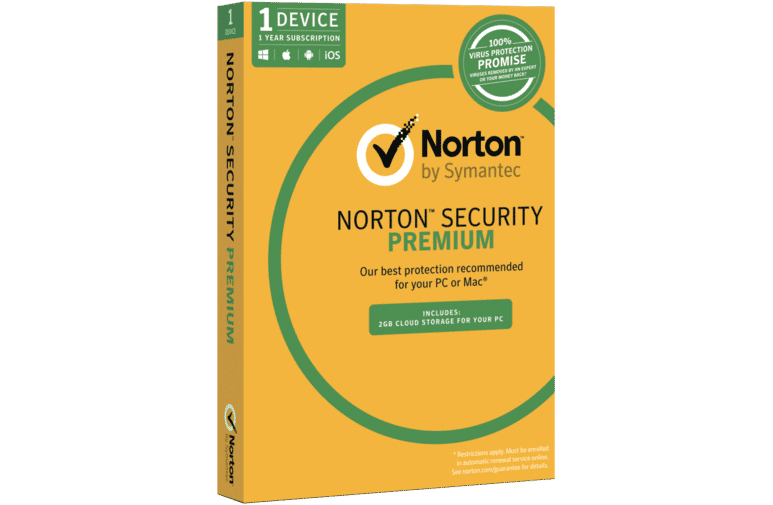 Norton Security Premium 3.0 2GB AU 1 User 1 Device 12 Month Subscription - TechTide