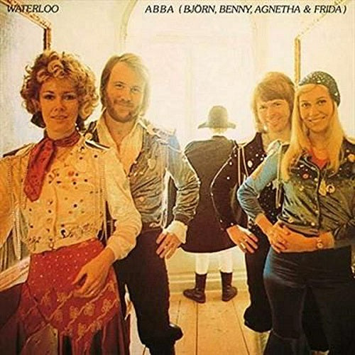 ABBA - Waterloo Album Cover