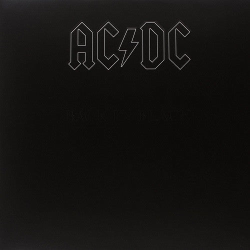 AC/DC - Back In Black Album Cover