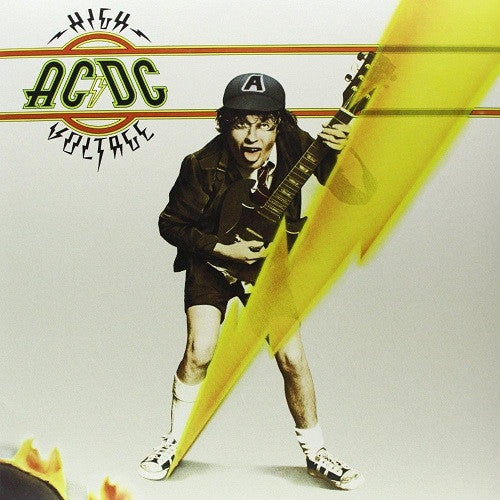 AC/DC - High Voltage Album Cover