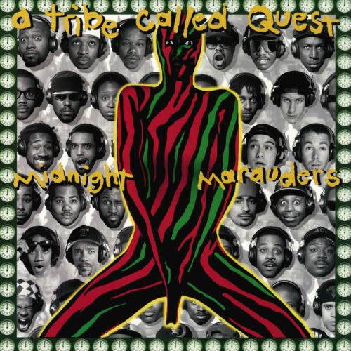 A Tribe Called Quest - Midnight Marauders Album Cover