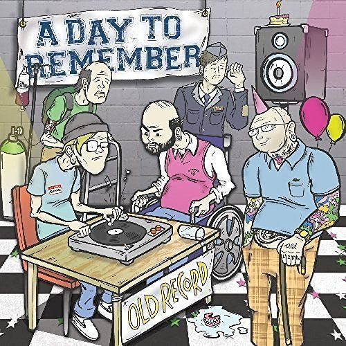 A Day To Remember - Old Record Album Cover