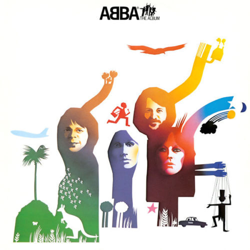 ABBA - The Album Album Cover