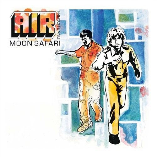 Air - Moon Safari Album Cover