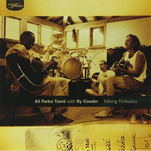 Ali Farka Touré with Ry Cooder - Talking Timbuktu Album Cover