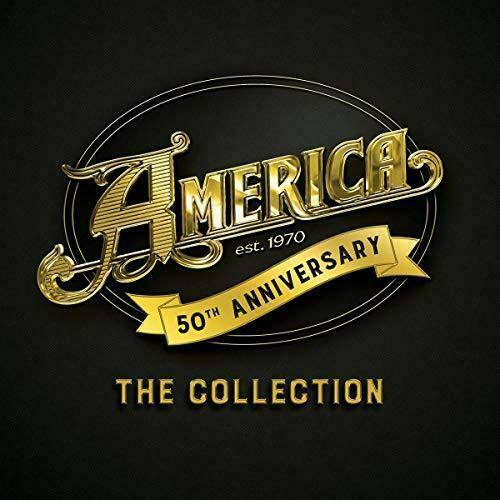 America - 50th Anniversary: The Collection Album Cover