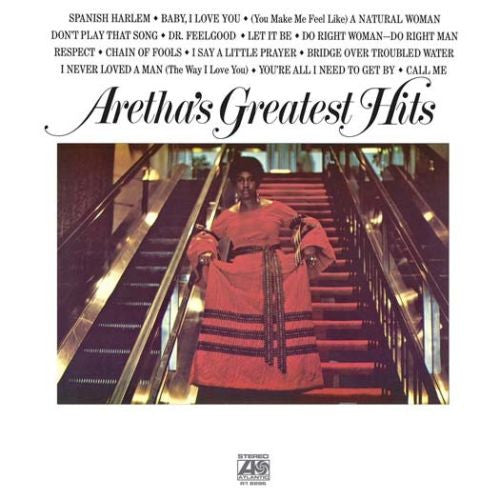 Aretha Franklin - Aretha's Greatest Hits Album Cover