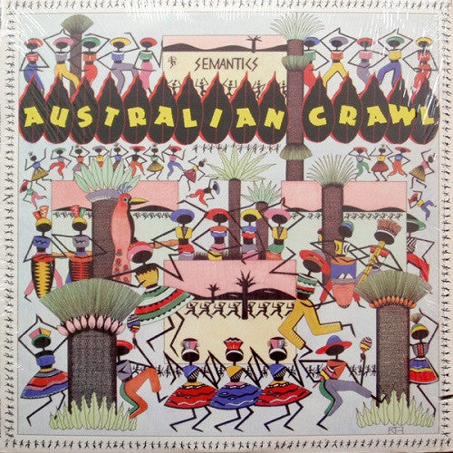 Australian Crawl - Semantics Album Cover