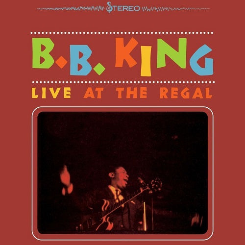B.B. King - Live At The Regal Album Cover