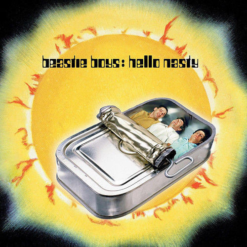 Beastie Boys - Hello Nasty Album Cover
