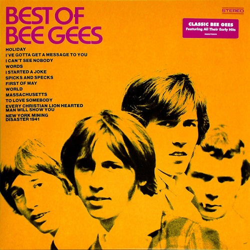 Bee Gees - Best Of Bee Gees Album Cover