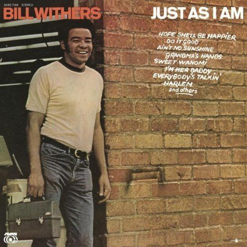Bill Withers - Just As I Am Album Cover