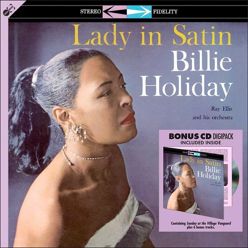 Billie Holiday - Lady In Satin (Bonus CD Digipack) Album Cover
