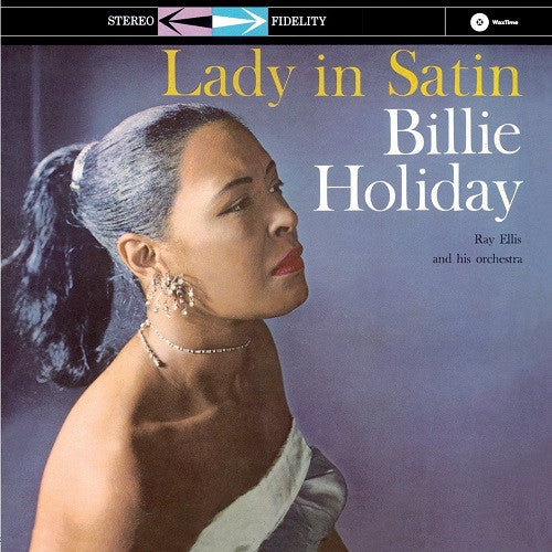 Billie Holiday - Lady In Satin Album Cover