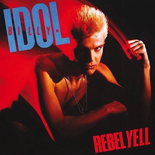 Billy Idol - Rebel Yell Album Cover