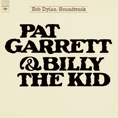 Bob Dylan - Pat Garrett & Billy The Kid Album Cover
