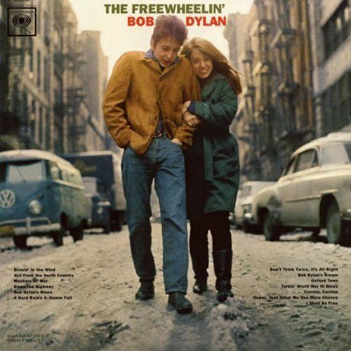 Bob Dylan - The Freewheelin' Bob Dylan Album Cover