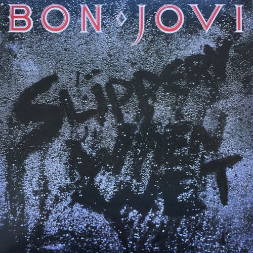 Bon Jovi - Slippery When Wet Album Cover