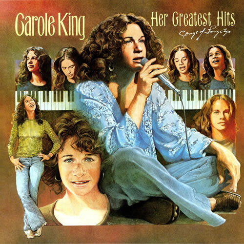 Carole King - Her Greatest Hits Album Cover