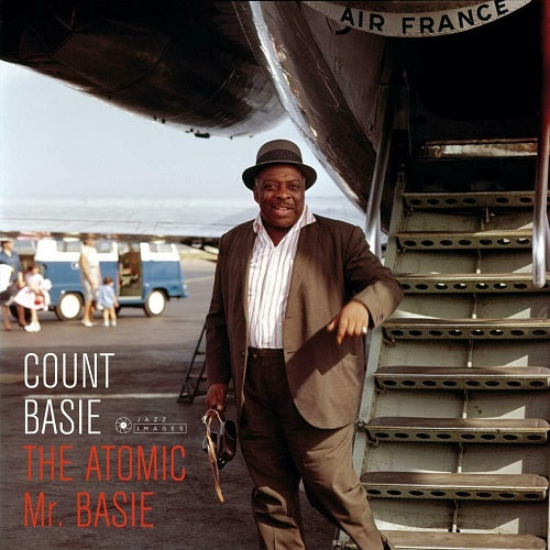 Count Basie - The Atomic Mr Basie (Jean-Pierre Leloir Image) Album Cover