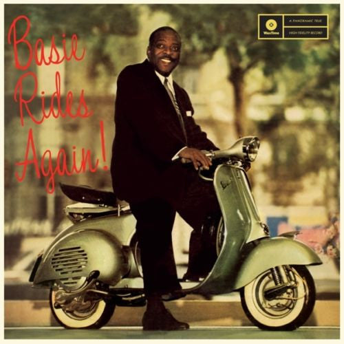 Count Basie - Basie Rides Again! Album Cover