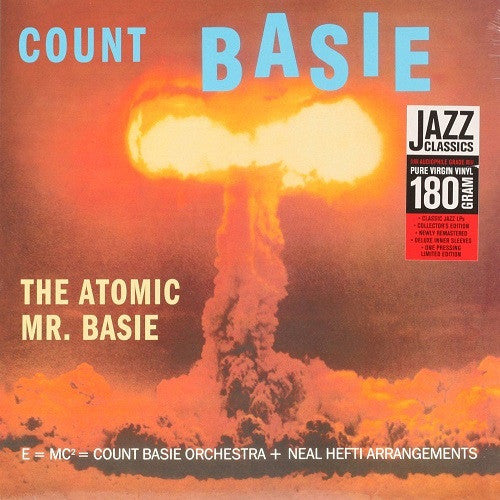 Count Basie - The Atomic Mr. Basie Album Cover