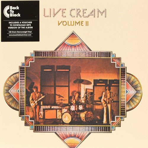 Cream - Live Cream: Volume II Album Cover