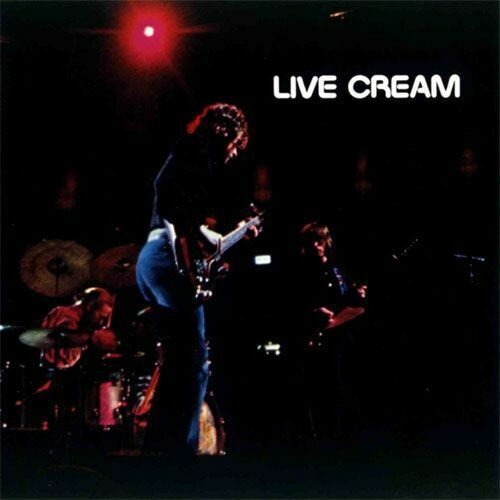 Cream - Live Cream Album Cover