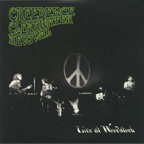 Creedence Clearwater Revival - Live At Woodstock Album Cover
