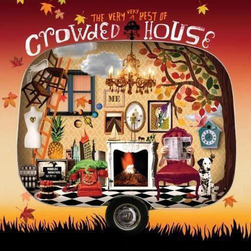 Crowded House - The Very Very Best Of Crowded House Album Cover