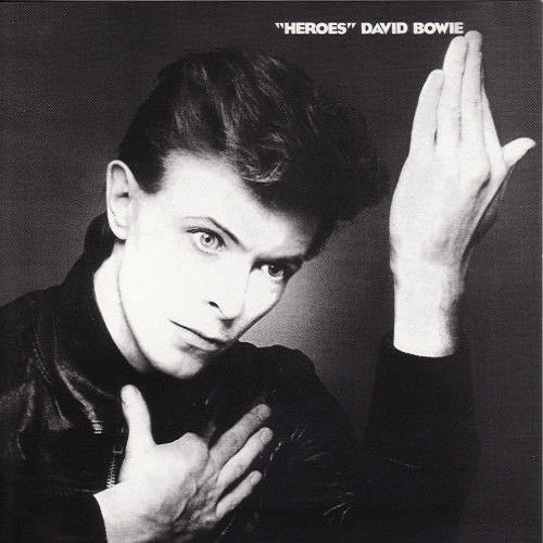 "David Bowie - ""Heroes"" Album Cover"