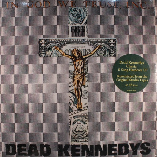 Dead Kennedys - In God We Trust, Inc. Album Cover