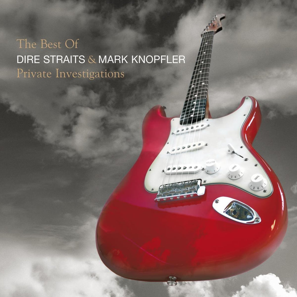 Dire Straits - The Best Of Dire Straits & Mark Knopfler: Private Investigations Album Cover