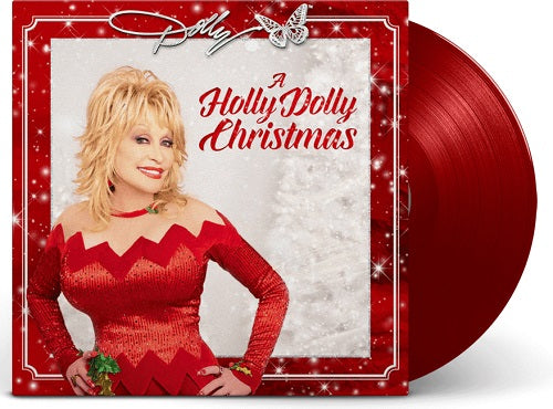 Dolly Parton - A Holly Dolly Christmas Red Vinyl