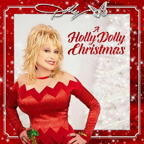 Dolly Parton - A Holly Dolly Christmas Album Cover