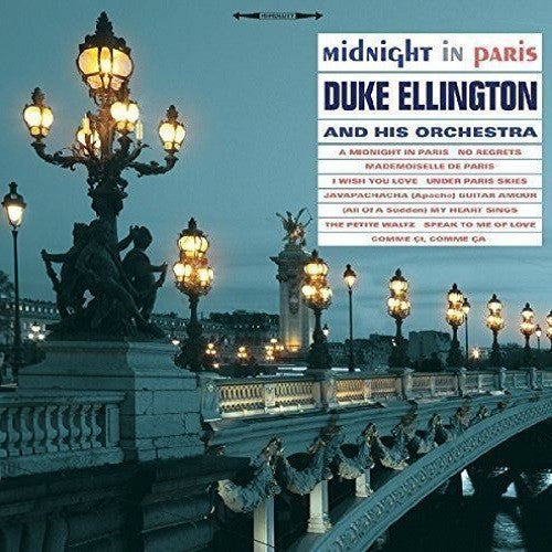 Duke Ellington and His Orchestra - Midnight In Paris Album Cover