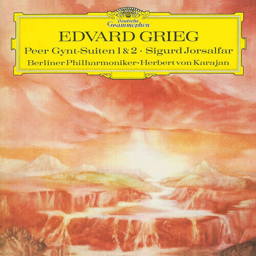 Edvard Grieg - Peer Gynt-Suiten 1&2 Album Cover