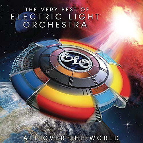 Electric Light Orchestra - All Over The World: The Very Best Of Electric Light Orchestra Album Cover