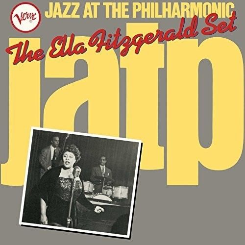 Ella Fitzgerald - Jazz At The Philharmonic Album Cover