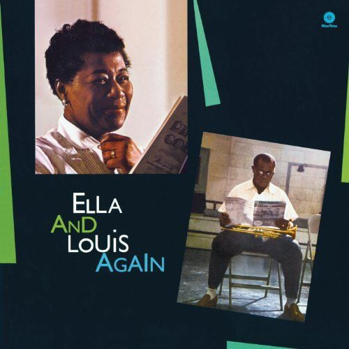 Ella Fitzgerald - Ella & Louis Again Album Cover