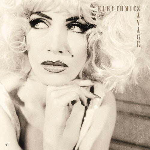 Eurythmics - Savage Album Cover
