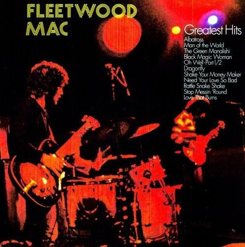 Fleetwood Mac - Greatest Hits (Peter Green Years) Album Cover