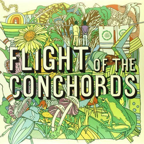 Flight Of The Conchords - Flight Of The Conchords Album Cover