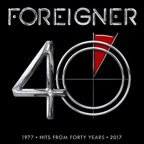Foreigner - 40 (1977-Hits From Forty Years-2017) Album Cover