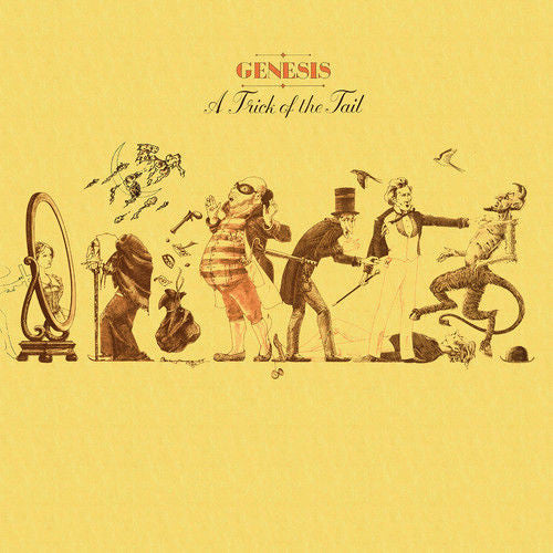 Genesis - A Trick Of The Tail Album Cover